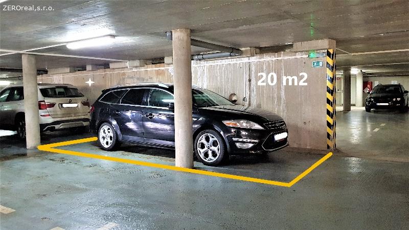 Pronájem  parkovacího stání v Brně – Černovicích